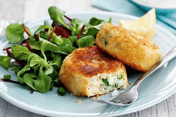 Salmon and Dill Fishcakes