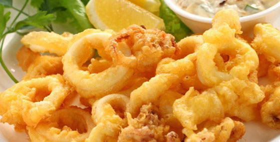 Battered Calamari Rings
