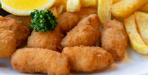 Whitby Battered Scampi