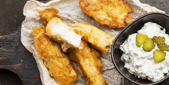 Battered Cod Goujons