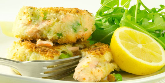 Smoked Haddock and Mozzarella Fishcakes