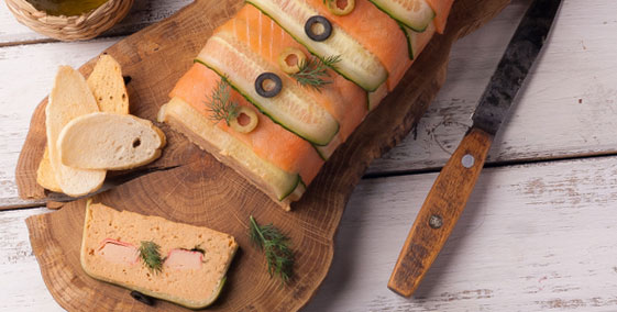 Shrimp and Smoked Salmon Terrine