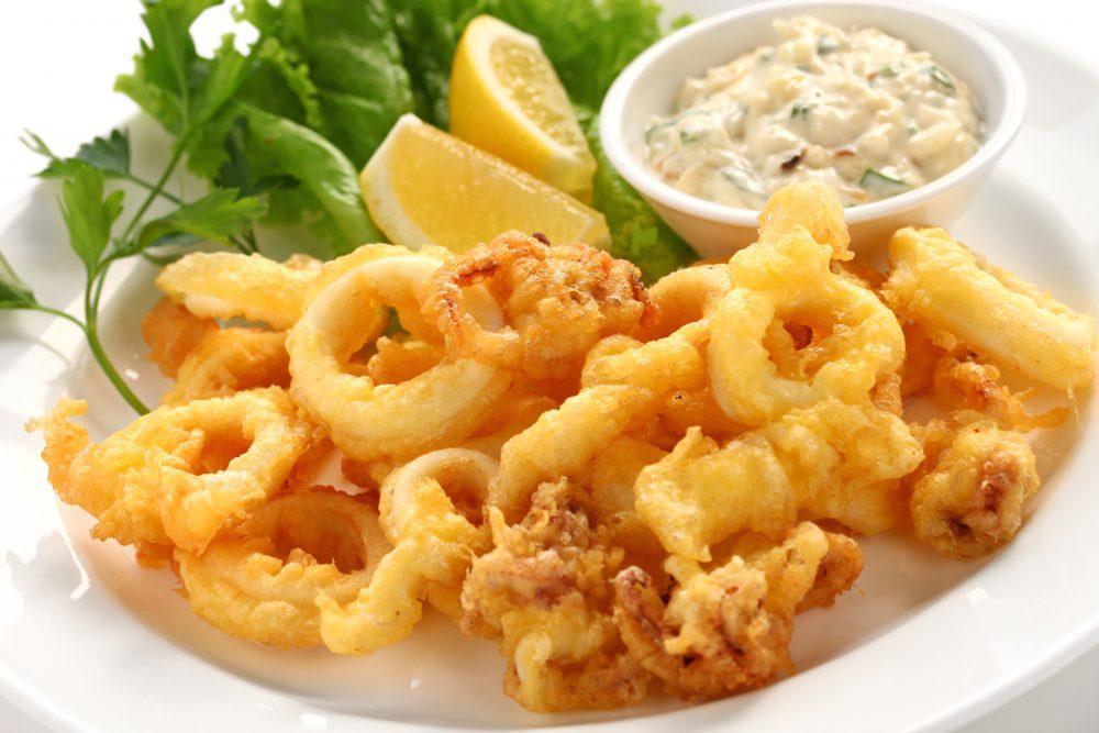 Panko Coated Seafood Platter