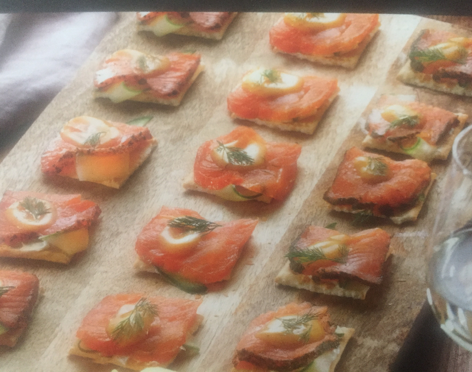 Smoked Salmon Slices (3 varieties)