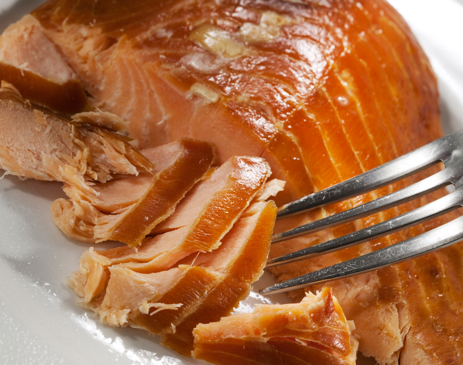 Traditional Hot Smoked Salmon