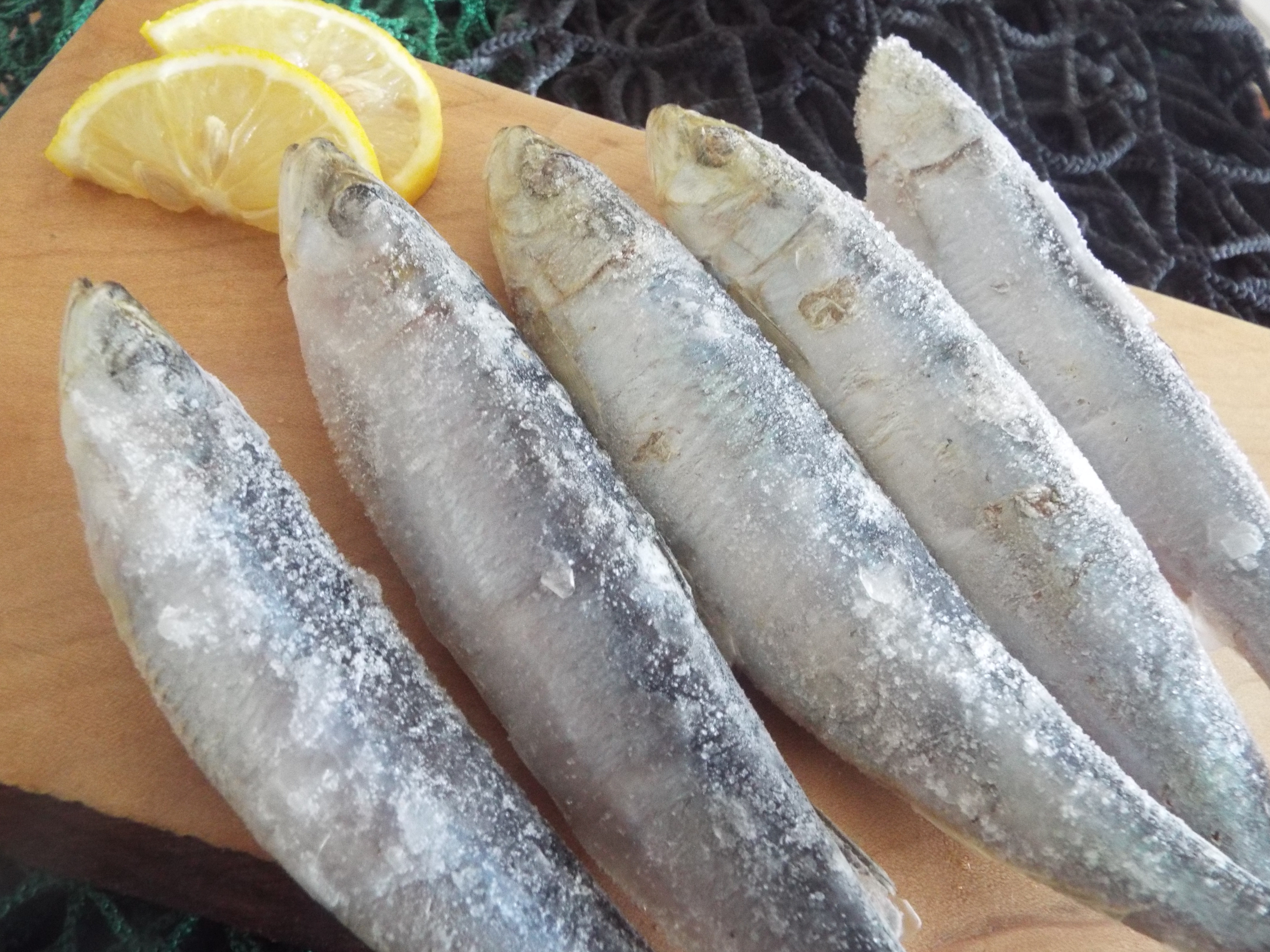 Whole Cornish Sardines