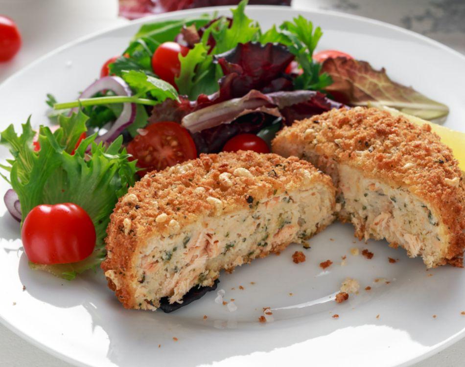 Salmon & Dill Fishcakes (Gluten Free)
