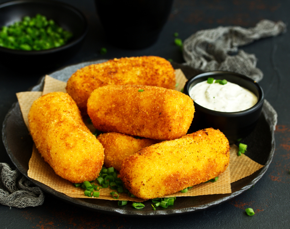 Salty Cod Croquettes