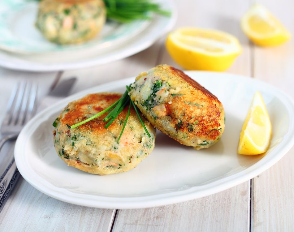 Smoked Haddock, Spinach & Potato Fishcake (Gluten Free)