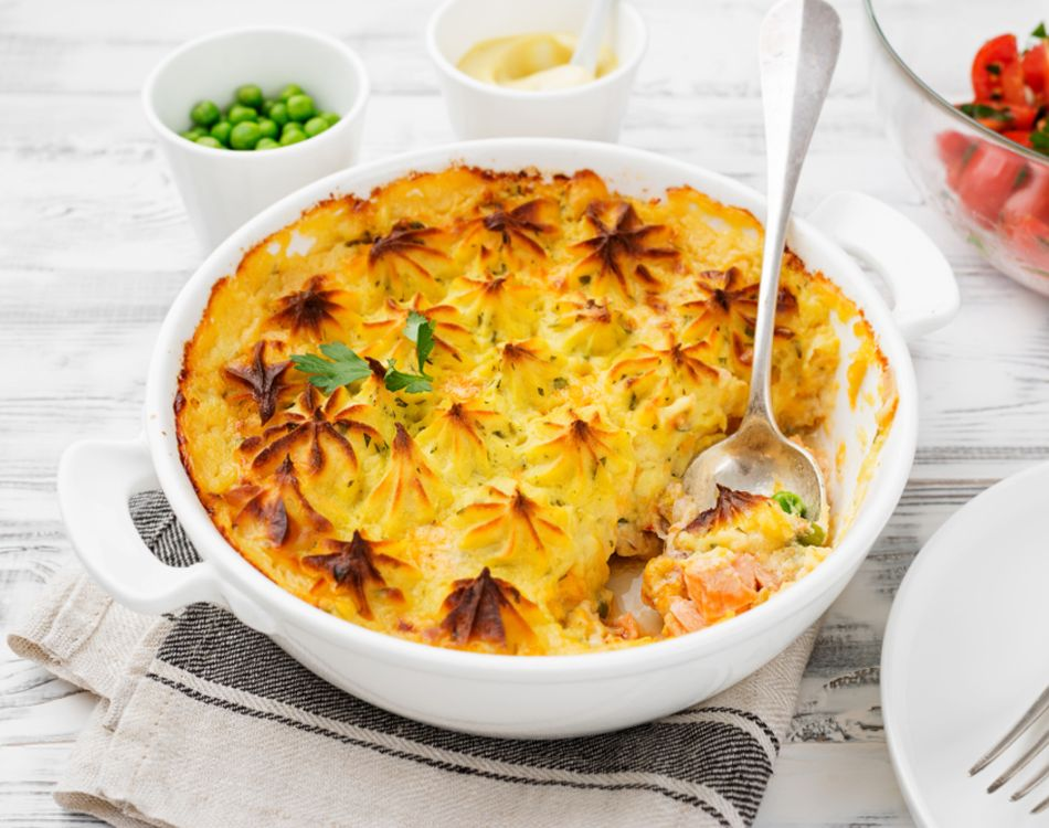 Delicious Homemade Fish Pie